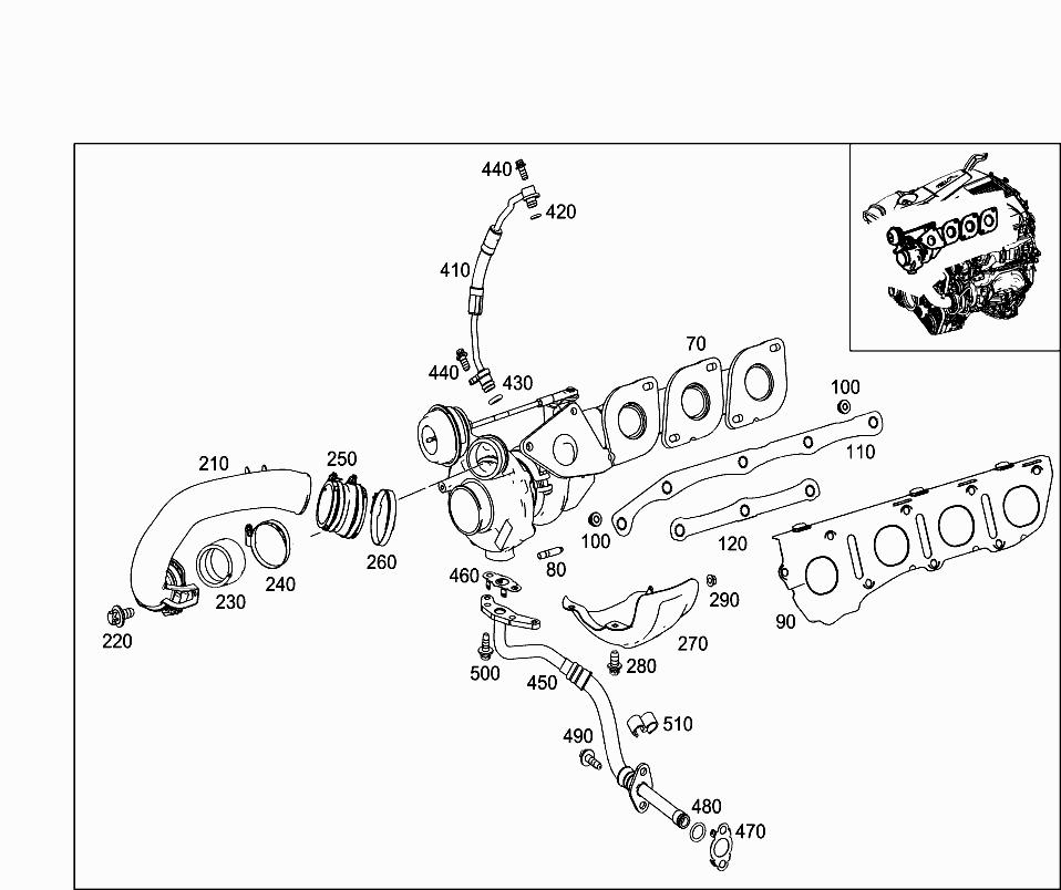 Каталог запчастей к Mercedes Benz Mlclass Gle W166 Оригинальные запчасти Epc Tecdoc Mercua: Mercedes M278 Engine Diagram At Hrqsolutions.co